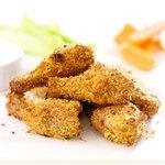 Breaded Parmesan Chicken Wings