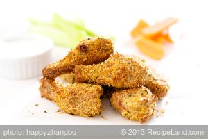 Breaded Parmesan Chicken Wings