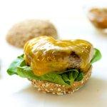 Turkey-Cheddar Burgers
