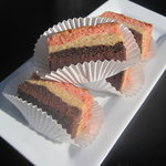 Neapolitan Gooey Cake Bars