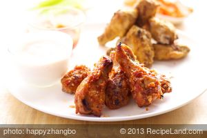 Beau's Sweet-Sour Chicken Wings