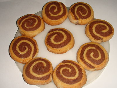Homemade Pinwheel  Cookies