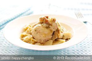 Potato Leek Chicken