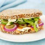 Smoked Salmon Hero Sandwich