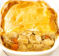 Phyllo Chicken Pot Pie