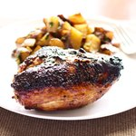Ginger Honey Roast Chicken