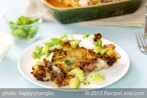 Chicken Enchiladas with Pasilla Chili Sauce