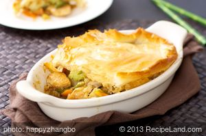 Asian Chicken Pot Pie