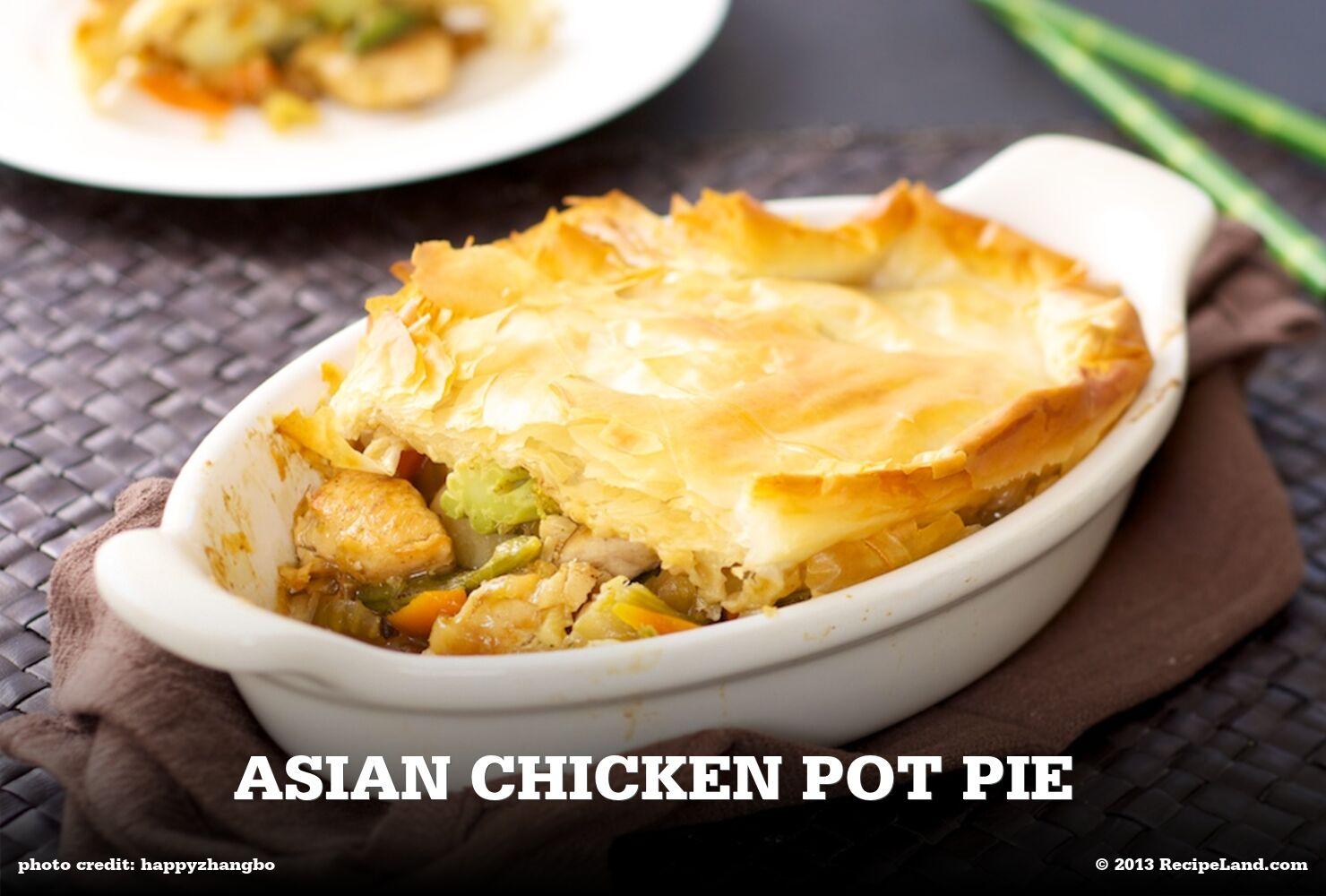Asian Chicken Pot Pie