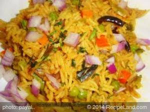 South Indian Vegetable Biryani