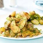 Garlic and Parsley Roasted Potatoes