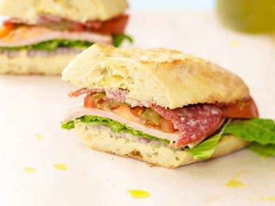 Mom's Big Sub Sandwich