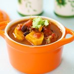 Black Bean Sweet-Potato Chili