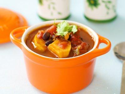Black Bean Sweet-Potato Chili