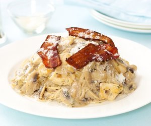 Bacon Turkey Tetrazzini
