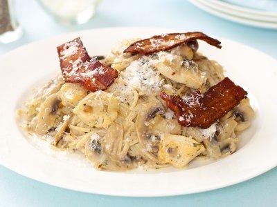 Bacon Turkey Tetrazzini
