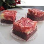 Red Velvet Cheesecake Swirl Brownies