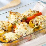 Smoked Corn Stuffed Pepper