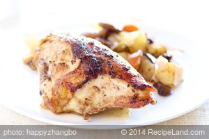 Oven Roasted Chicken With New Potatoes