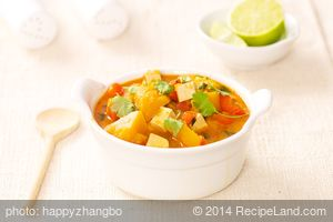 Thai Curry Squash Soup