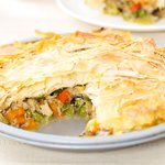 Turkey Breast Pot Pie Ala Weight Watchers