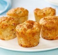 Yummy Cheese Muffins