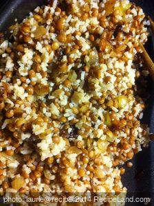 Koushry (Rice & Lentils)