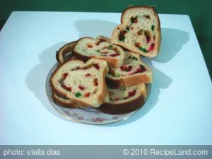 Homemade Mixed Fruit Bread