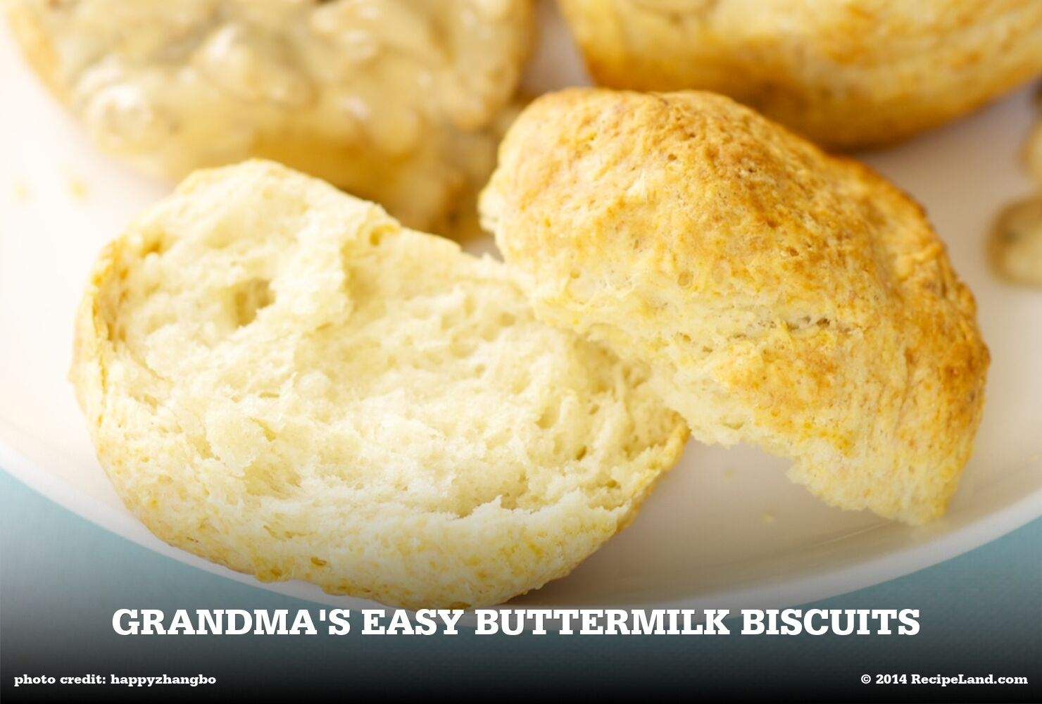 Grandma's Easy Buttermilk Biscuits