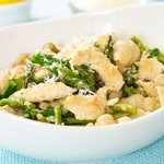 Asparagus Chicken Pasta with Parmesan