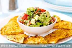 Avocado Feta Salsa - Superbowl