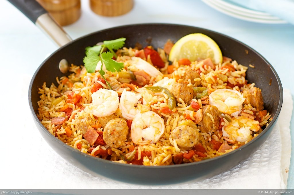 Jambalaya One-Pot Meal