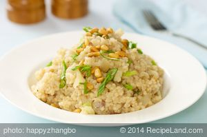 Couscous with Fennel and Pinenuts