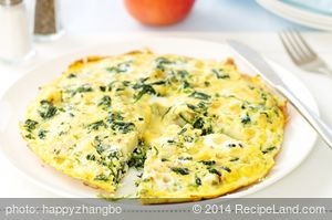 Potato and Spinach Frittata