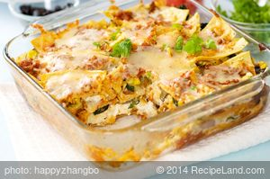 Southwestern Vegetable Lasagna