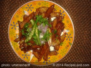 Sweet and Sour Potatoes