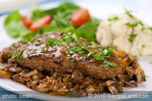 Salisbury Steaks with Mushroom Sauce