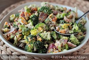 All Time Favourite Broccoli Salad