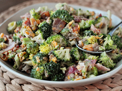 All Time Favourite Broccoli Salad