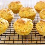 Chile Cheese Cornbread Muffins