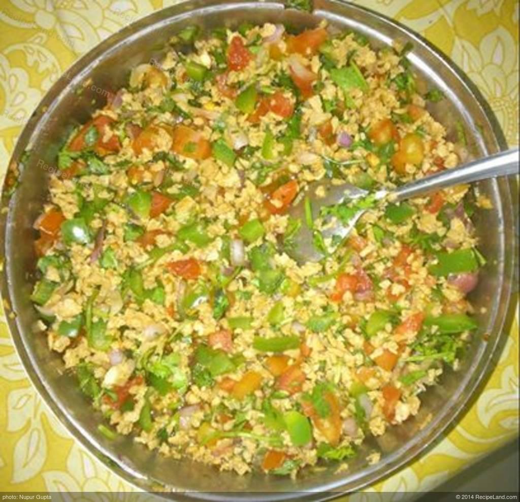 Quick Delicious Diet Food Soya Bean Bhel Recipe