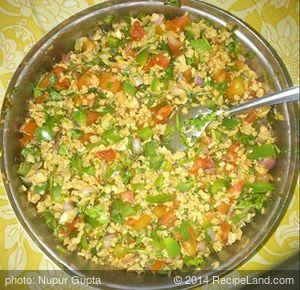 Quick Delicious Diet Food (Soya Bean Bhel)