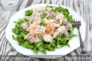 Creamy Salmon and New Potato Salad