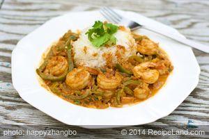 Creamy Curried Shrimp