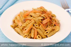 Penne Ala Vodka and Smoked Salmon