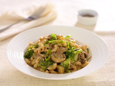 Maccaroni and Cheese with Vegetables
