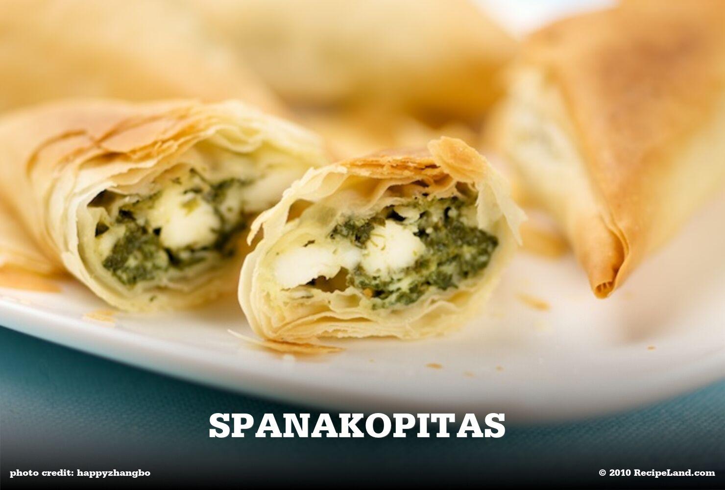 Spanakopitas