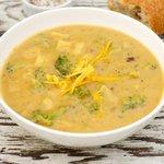 Cheddar-Potato-Broccoli Soup