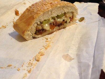 Steak Sandwich with a cuban twist