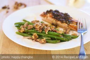Green Beans with Walnuts and Tarragon